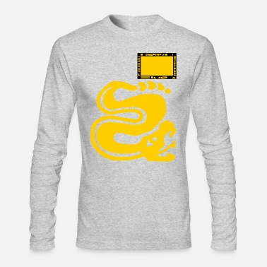Snake Team Silver Snakes - Men's Long Sleeve T-Shirt by Next Level
