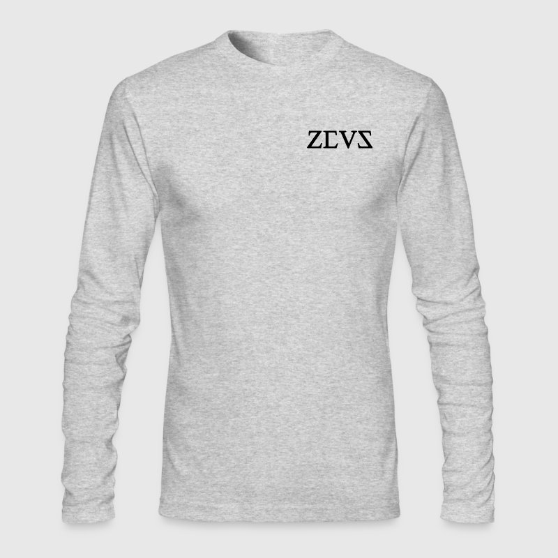 Zeus Clothing | Long Sleeve Top - Men's Long Sleeve T-Shirt by Next Level