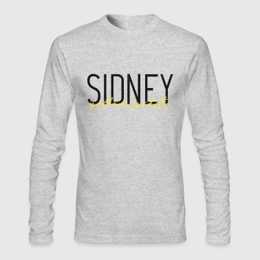 Sidney Sidney Yellow Jackets - Men's Long Sleeve T-Shirt by Next Level