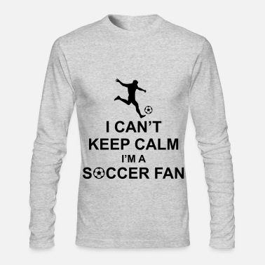 Soccer Fan Soccer Fan - Men's Long Sleeve T-Shirt by Next Level