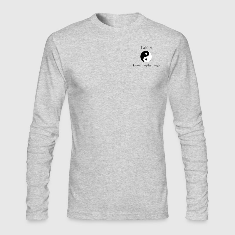 Tai Chi - Balance, Tranquility, Strength - Men's Long Sleeve T-Shirt by Next Level