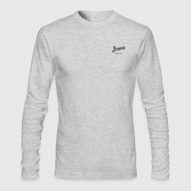Icon Icons - Men's Long Sleeve T-Shirt by Next Level
