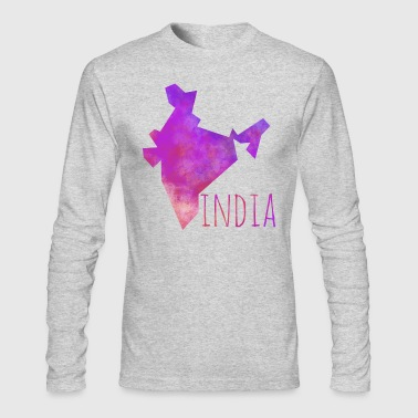india - Men's Long Sleeve T-Shirt by Next Level