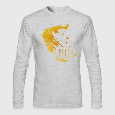 greece - Men's Long Sleeve T-Shirt by Next Level