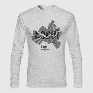 Seoul - Men's Long Sleeve T-Shirt by Next Level