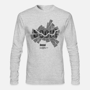 Seoul Seoul - Men's Long Sleeve T-Shirt by Next Level