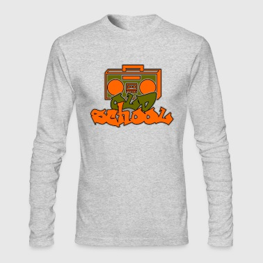 Old School - Men's Long Sleeve T-Shirt by Next Level