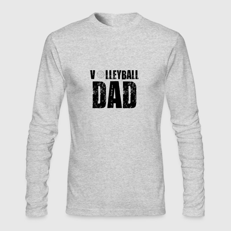 Volleyball Dad Shirt - Men's Long Sleeve T-Shirt by Next Level