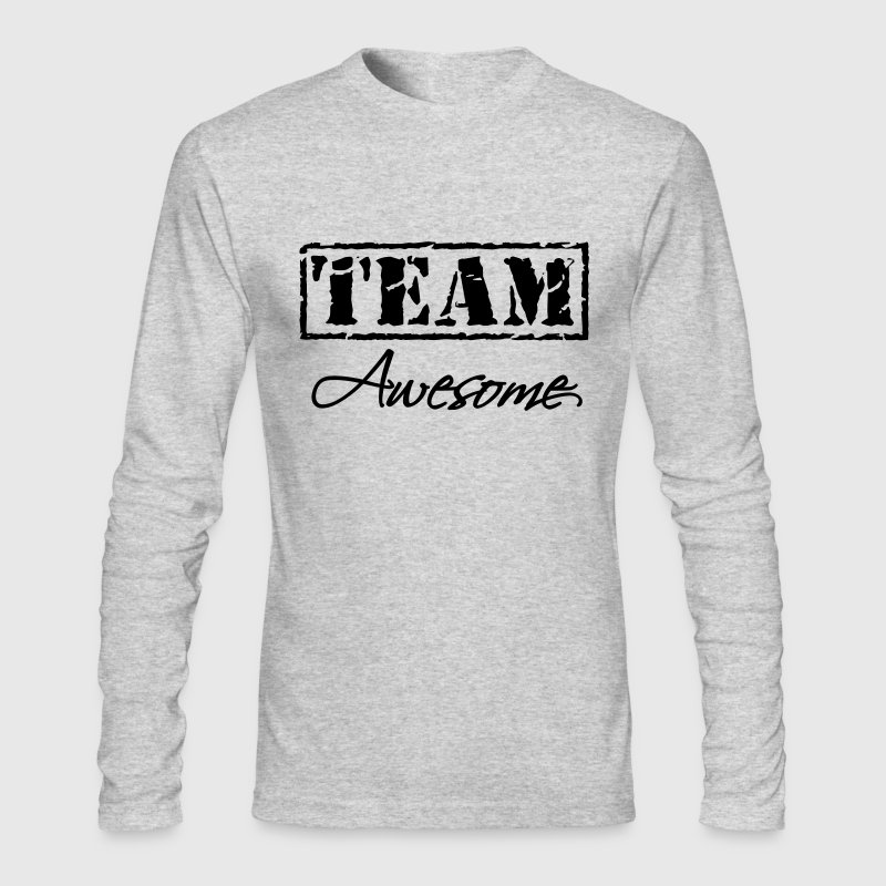 Team Awesome - Men's Long Sleeve T-Shirt by Next Level