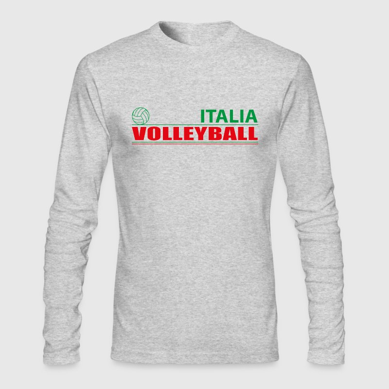 Volleyball Italia - Men's Long Sleeve T-Shirt by Next Level
