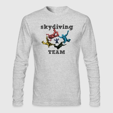 skydivers - Men's Long Sleeve T-Shirt by Next Level