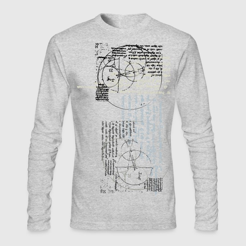 cool designer invention 2 - Men's Long Sleeve T-Shirt by Next Level