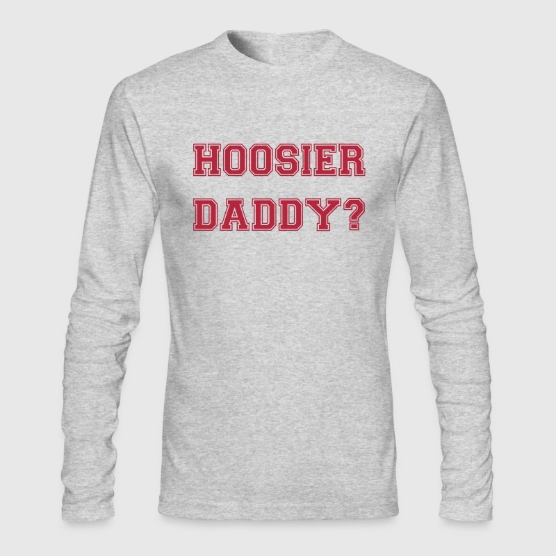 Hoosier Daddy - Men's Long Sleeve T-Shirt by Next Level