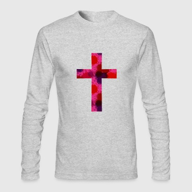 Cross christianity - Men's Long Sleeve T-Shirt by Next Level