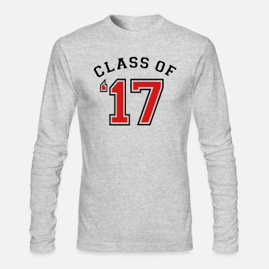 Class Of 2017 Class of 2017 - Class of 17 - Men's Long Sleeve T-Shirt by Next Level