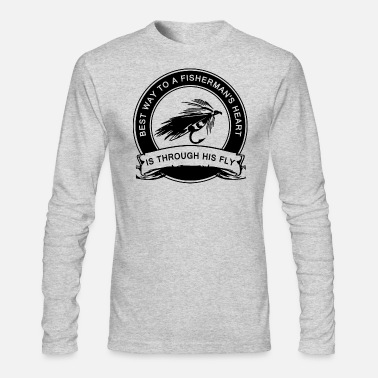 Fly Fishing Humor - Men's Long Sleeve T-Shirt by Next Level