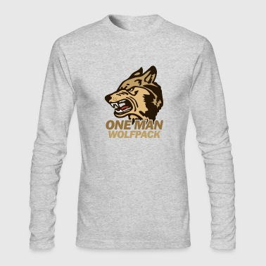 the Hangover Wolfpack - Men's Long Sleeve T-Shirt by Next Level