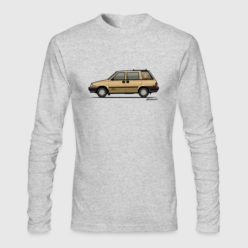 Nissan Stanza 4wd Multi Wagon Datsun Prairie Gold - Men's Long Sleeve T-Shirt by Next Level
