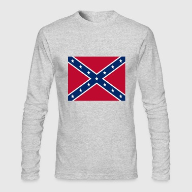 Confederate Flag - Men's Long Sleeve T-Shirt by Next Level