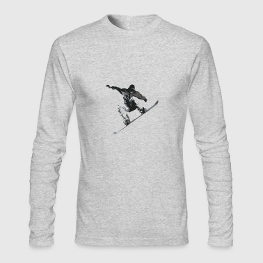 Snow Boarder - Men's Long Sleeve T-Shirt by Next Level
