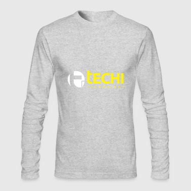 Technology Technology Round - Men's Long Sleeve T-Shirt by Next Level