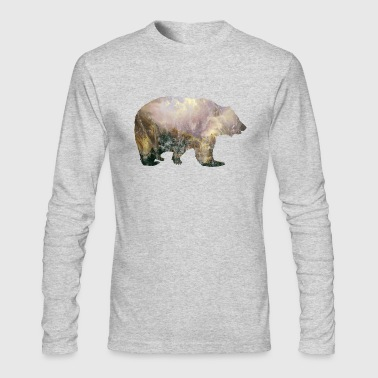 Bear Mountains Vintage Gift Idea - Men's Long Sleeve T-Shirt by Next Level