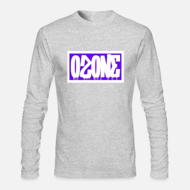 Ozone Ozone Graffiti Logo - Men's Long Sleeve T-Shirt by Next Level