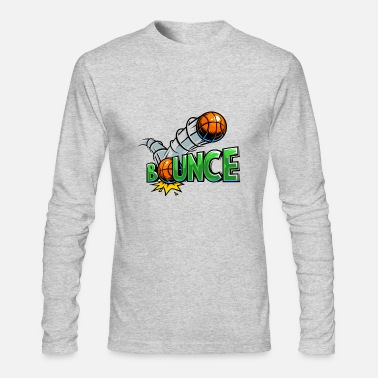 Bounce Bounce - Men's Long Sleeve T-Shirt by Next Level