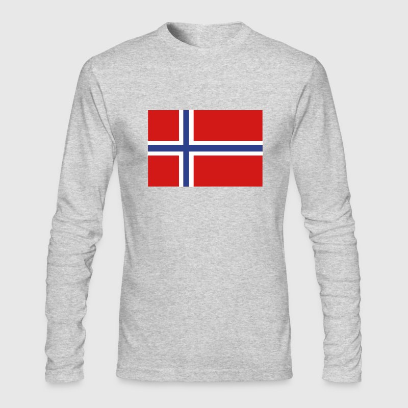Norway - Men's Long Sleeve T-Shirt by Next Level