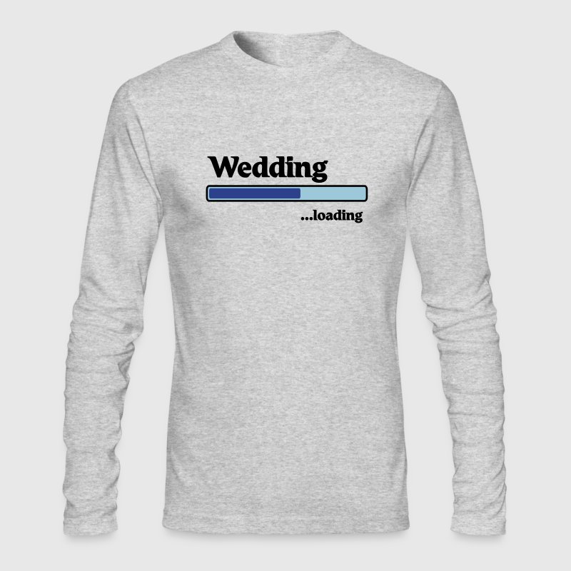 Wedding loading - Men's Long Sleeve T-Shirt by Next Level