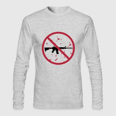 NO assault rifles - Men's Long Sleeve T-Shirt by Next Level