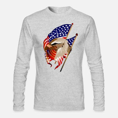 Patriot Patriotic - Men's Long Sleeve T-Shirt by Next Level