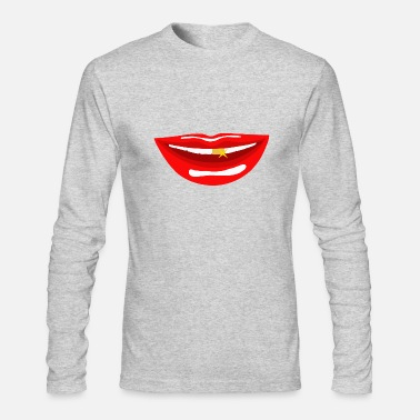 Mouth mouth - Men's Long Sleeve T-Shirt by Next Level