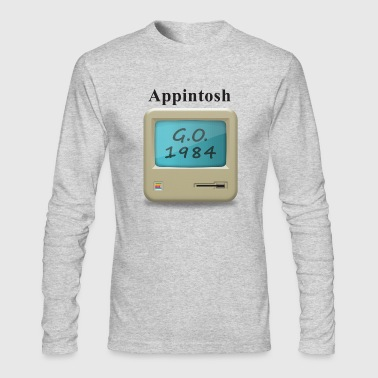 Appintosh - Men's Long Sleeve T-Shirt by Next Level