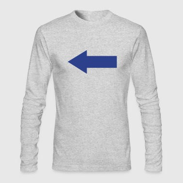 Arrows Arrow - Men's Long Sleeve T-Shirt by Next Level