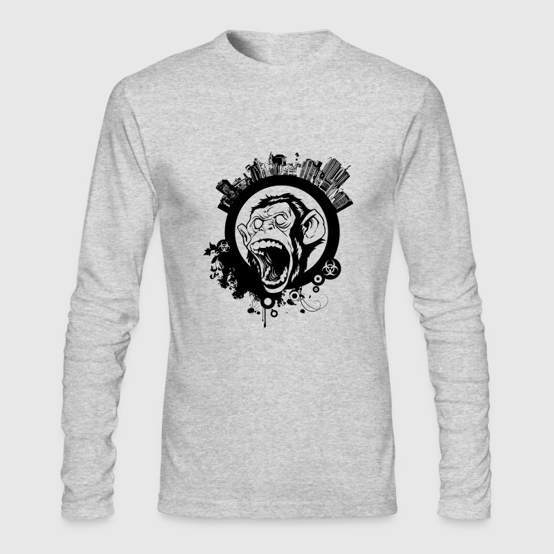 Urban Monkey - Men's Long Sleeve T-Shirt by Next Level