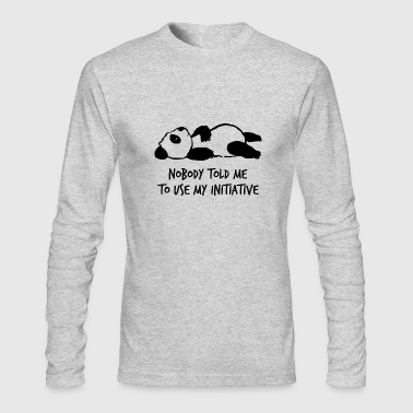 Initiative - Men's Long Sleeve T-Shirt by Next Level
