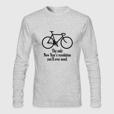 resolution - Men's Long Sleeve T-Shirt by Next Level