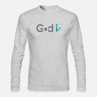 GOD IS #3 - Men's Long Sleeve T-Shirt by Next Level
