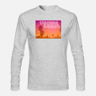 Venice Beach Venice beach - Men's Long Sleeve T-Shirt by Next Level