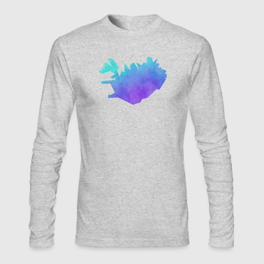 iceland - Men's Long Sleeve T-Shirt by Next Level