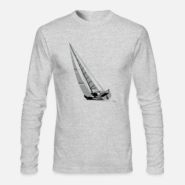 Sailingboat Sailingboat - Sailingship - Men's Long Sleeve T-Shirt by Next Level