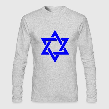 Star of David symbol - Men's Long Sleeve T-Shirt by Next Level