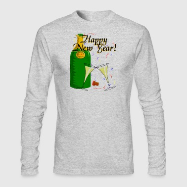 Happy New Year - Men's Long Sleeve T-Shirt by Next Level