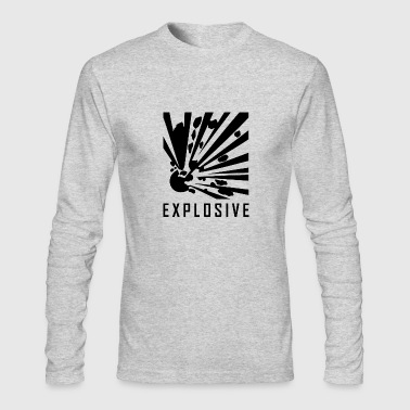 Explosive - Men's Long Sleeve T-Shirt by Next Level
