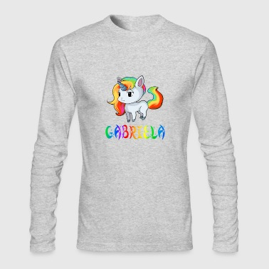 Gabriela Gabriela Unicorn - Men's Long Sleeve T-Shirt by Next Level