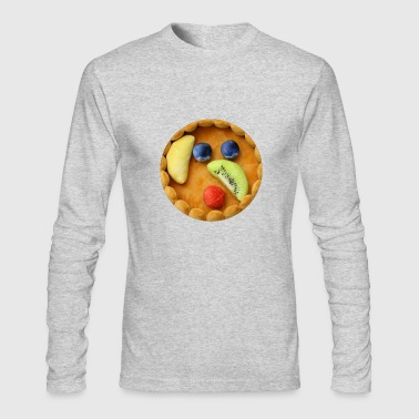 Healthy food t shirt - Men's Long Sleeve T-Shirt by Next Level