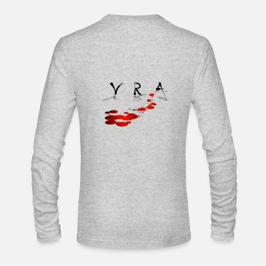 Blood Stains VRA BLOOD STAIN - Men's Long Sleeve T-Shirt by Next Level