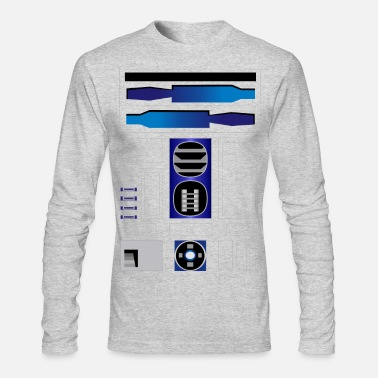R2D2 - Men's Long Sleeve T-Shirt by Next Level