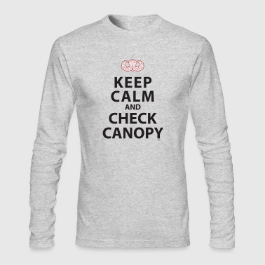 KEEP CALM AND CHECK CANOPY - Men's Long Sleeve T-Shirt by Next Level